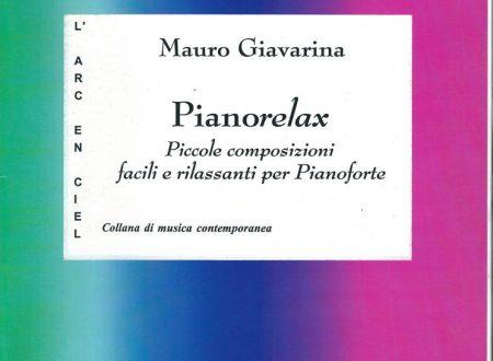 PIANORELAX – 8 pezzi facili e rilassanti, per pianoforte.