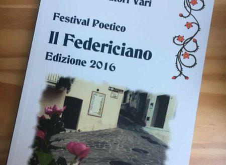 """Festival poetico """" Il Federiciano"""", 2016."""